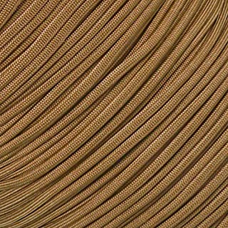 West Coast Paracord 10' 25' 50' & 100' Foot Hanks & 250' 300' 1000' Spools Winder & Buckle Options Type III 7 Strand 550 Cord Parachute Cord Many Colors - Largest Paracord Selection