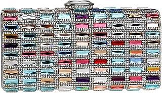 Carteras Bolso Mujer Noche Bolsas Fiesta Boda Brillo Mano Diamantes Cadena Embrague Multicolor