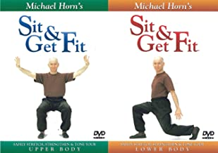 Sit and Get Fit - Upper + Lower Body - Exercise for Seniors - by Michael Horn SET