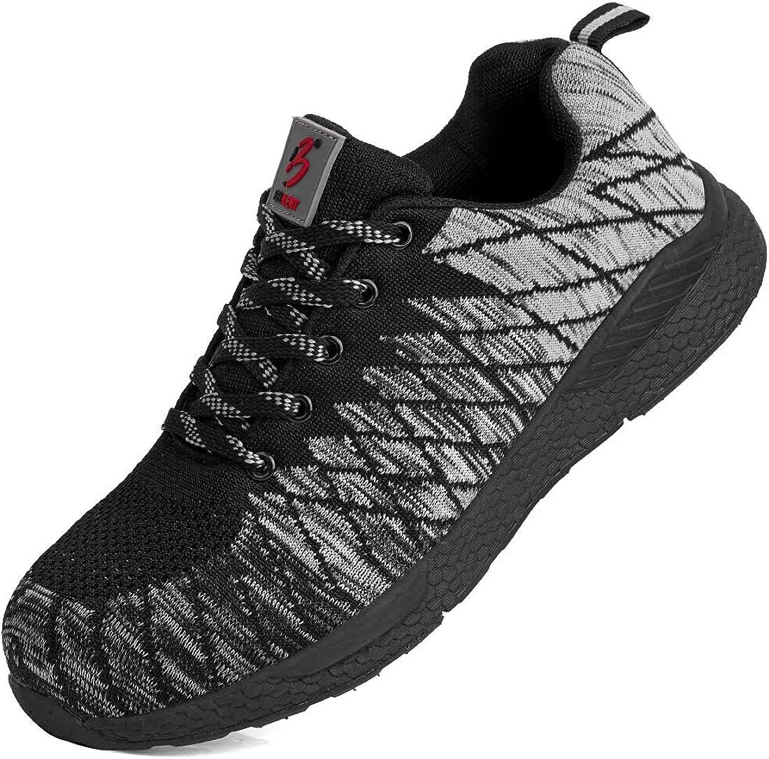 BELILENT Safety Steel Toe Shoes Same day shipping Men Lightweight Popular standard Composite