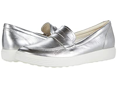ECCO Soft 7 Loafer (Alusilver) Women