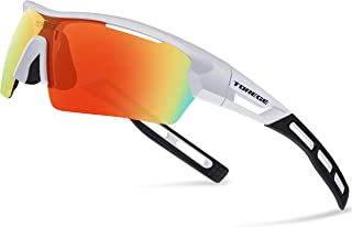 6bc5a20d214b Torege Polarized Sports Sunglasses for Men Women Cycling Running Driving  TR033