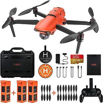 Autel Robotics EVO 2 Drone 8K HDR Video Rugged Bundle with $498 Value Accessories Kit