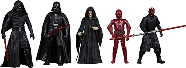 Star Wars Celebrate The Saga Toys Sith Action Figure Set 5-Pack, 3.75-Inch-Scale Collectible Figures, Toys for Kids Ages 4...