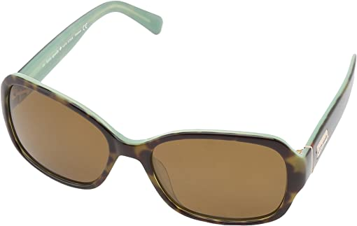 Tortoise Mint/Dark Brown Polarized