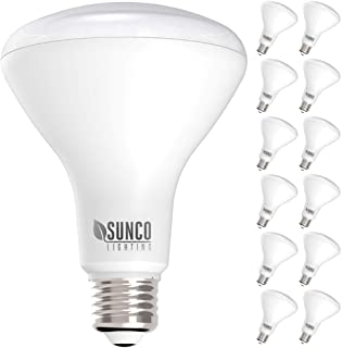 50WEquivalent Flood Light Warm White 2700K 9W, BR25//Br30 Dimmable LED Bulb