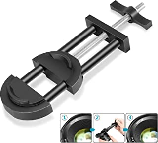 Neewer Camera Lens Vise Repair Tool for Lens and Filter, Ring Adjustment Range 27mm to 130mm, Steel Construction