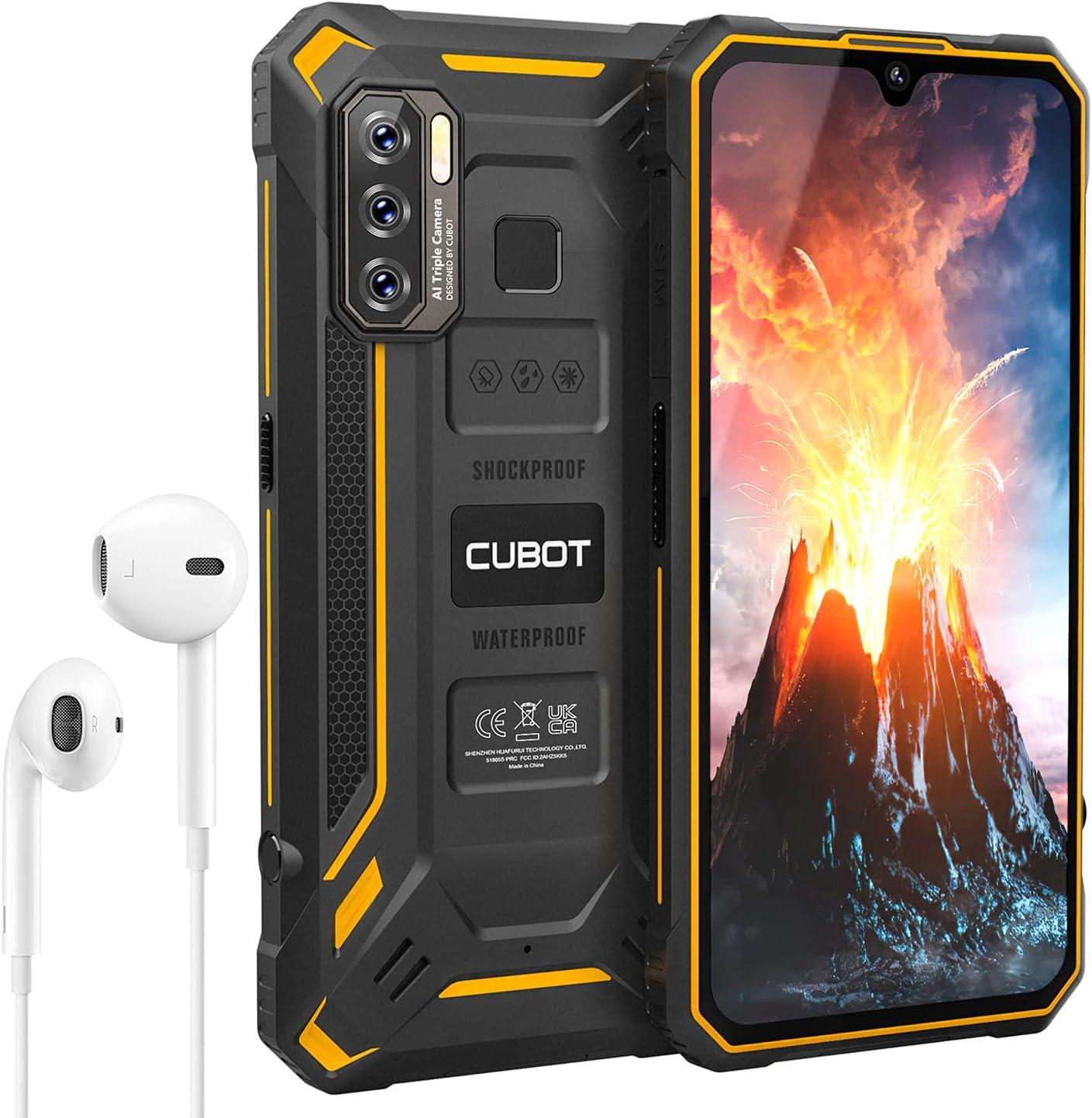 Teléfono Móvil Resistente CUBOT KingKong 5, Android 11 Smartphone Robusto, Batería 5000mAh,4+32GB(TF 256GB) 6,088