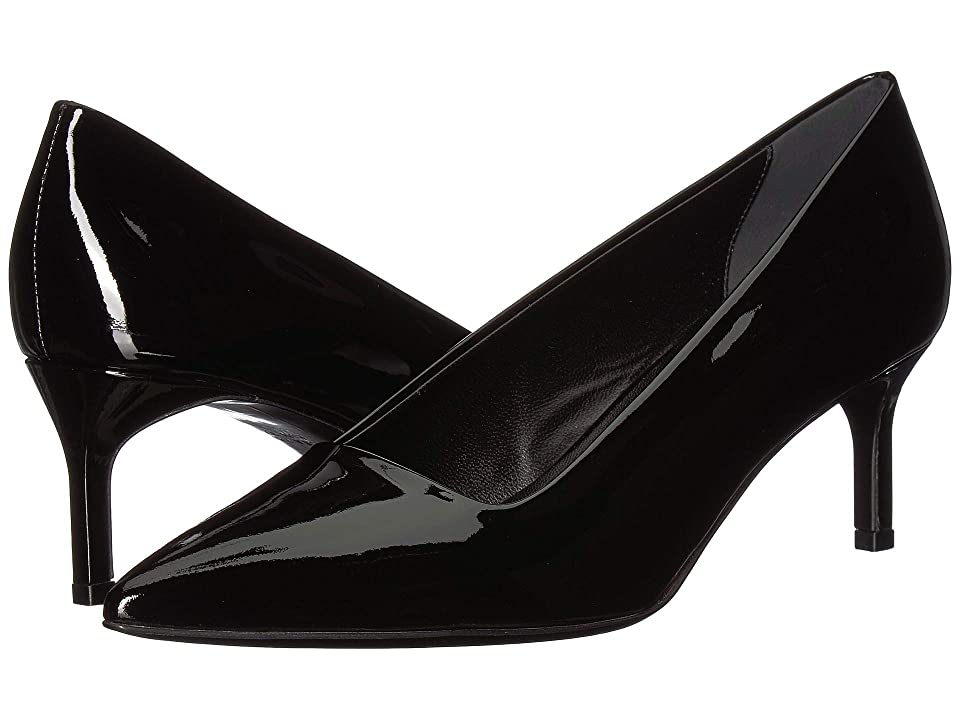 Via Spiga Bethany (Black Patent) Women