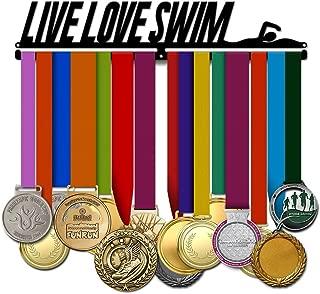 Live Love Swim - Swimming Medal Hanger