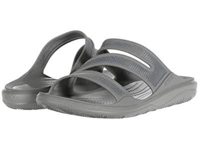Crocs Swiftwater Telluride Sandal (Smoke/Smoke) Women