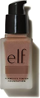 (81387chocolate) - e.l.f, Flawless Finish Foundation, Lightweight, Oil-free formula, Full Coverage, Blends Naturally, Rest...