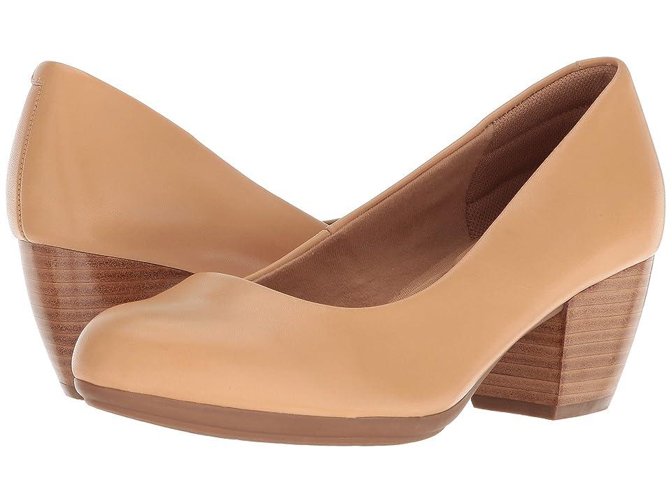 Comfortiva Amora (Sand Cow Quilin) High Heels