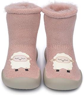 Zapatos Antideslizantes Calcetines Invierno para Bebé