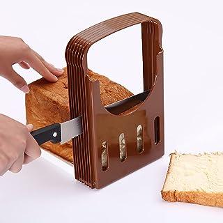2 Pcs Trancheur Pain,Maison Pain Pliante Pain Toast Slicer Rapide Et Sûr Gadgets Cuisine Pain Fait Maison, Gâteaux De Pai...