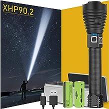 300000 lumens XHP90.2 The Most Powerful LED Flashlight USB Rechargeable Flashlight XHP90 XHP50 XHP70 Portable lamp 18650 F...