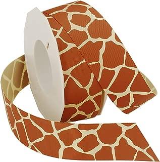 Morex Ribbon Giraffe Grosgrain Ribbon