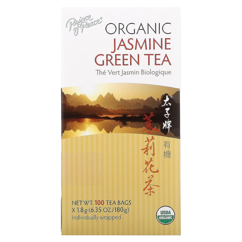 Prince of Peace - Organic Ranking TOP19 Jasmine Bags 100 Nashville-Davidson Mall Green Tea
