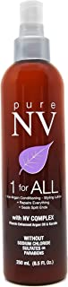 Pure NV 1 For ALL |Leave- In Conditioning Lotion - Infused with Keratin Collagen & Argan Oil- Sulfate & Sodium Chloride Free- Salon Quality (8.5 oz)