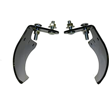 Wheel Hoe Plow Set | Attachment for Hoss and Planet Jr. Wheel Hoes