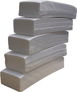 comprar comparacion Lote de 500 bandas de papel para depilación con cera (5 paquetes de 100 unidades)