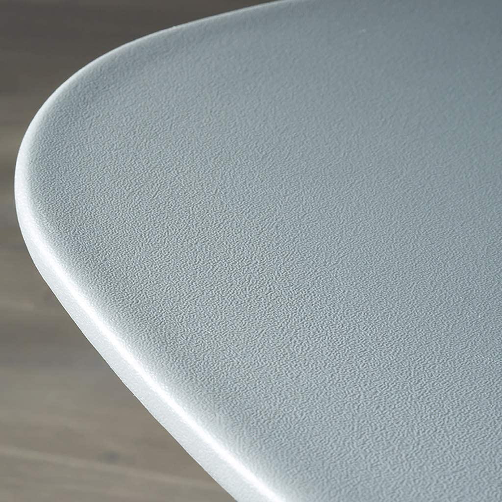 WDX- Chaise de Salle, Chaise de Bureau Simple, créative Dossier, Chaise Loisirs, Maison Adulte Chaise de Salle Confortable (Color : Gray) Gray