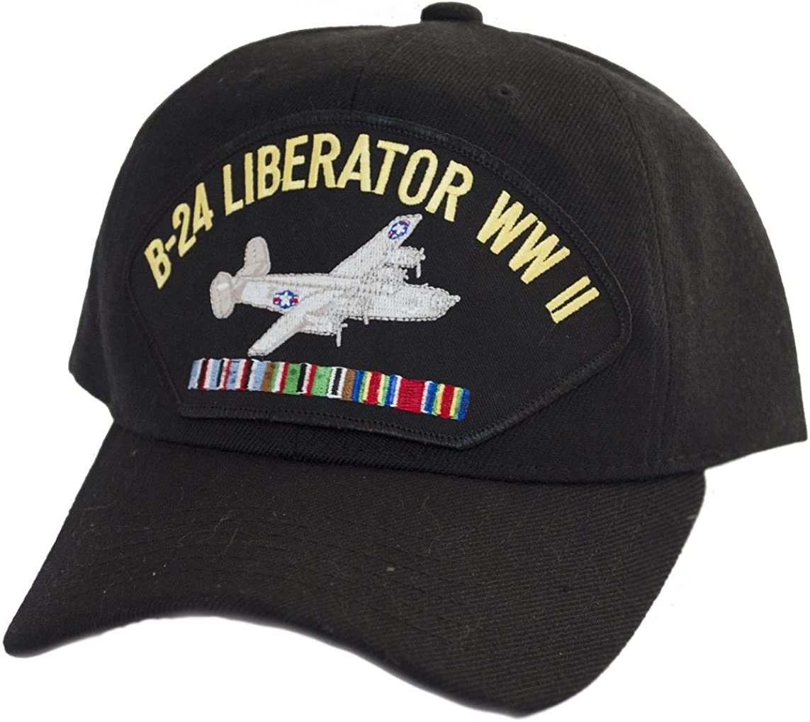 B-24 Liberator Popularity WWII Industry No. 1 Cap Black