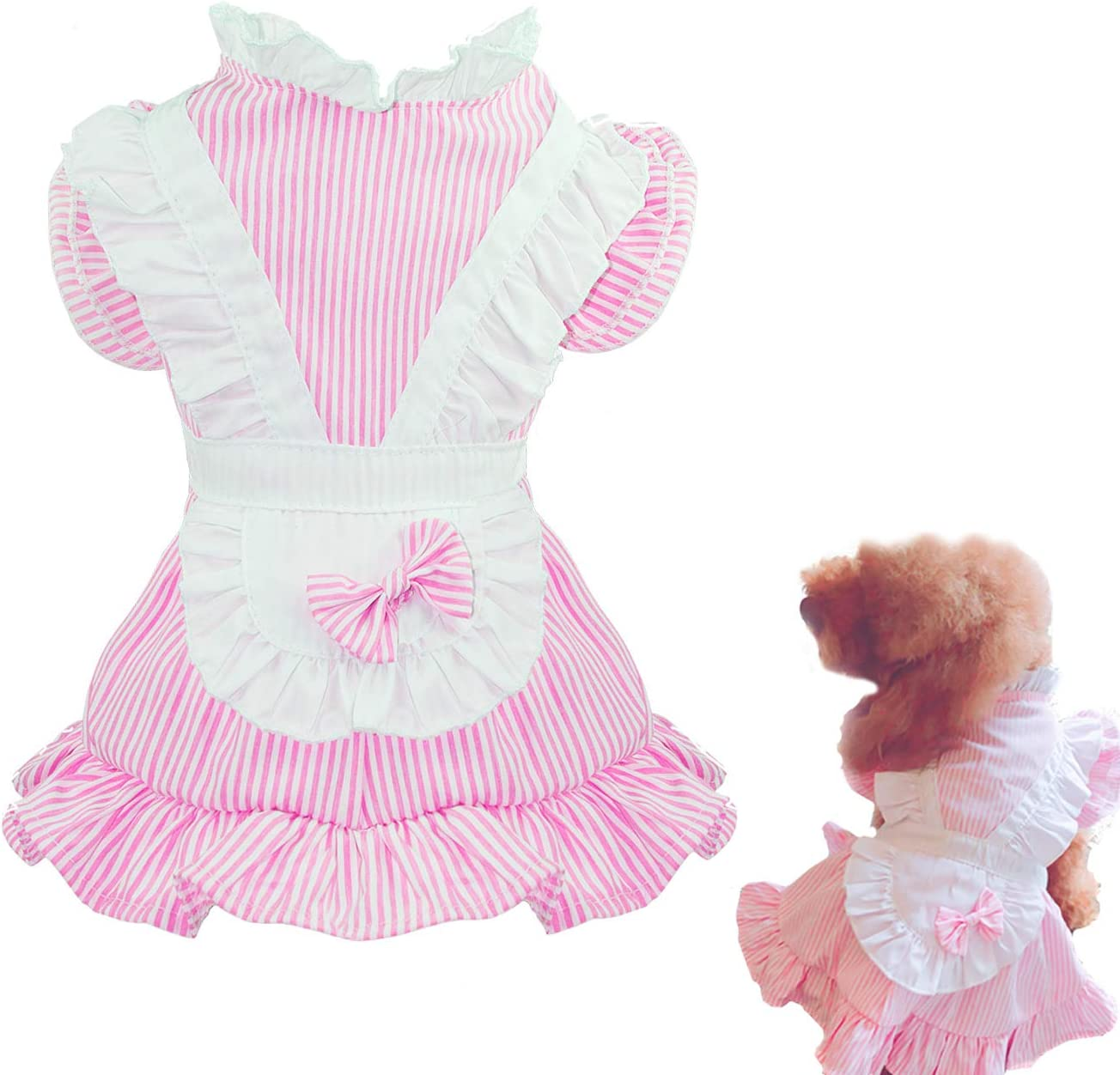 Puppy Face Popular overseas Dog Max 70% OFF Tutu Dress Girl Medium for Clothes Do Small