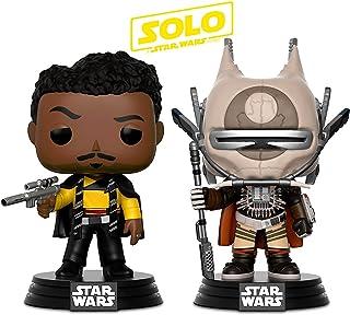 Funko POP star wars solo-enfys rodar y star wars solo-lando calrissian figura de acción Cabezones