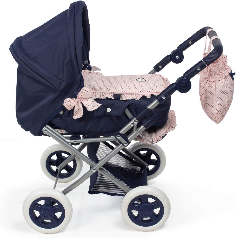 37X65X44 cm Pink Stroller Dolls La Nina 65024 Cochecito Marino Charlotte Peque/ño