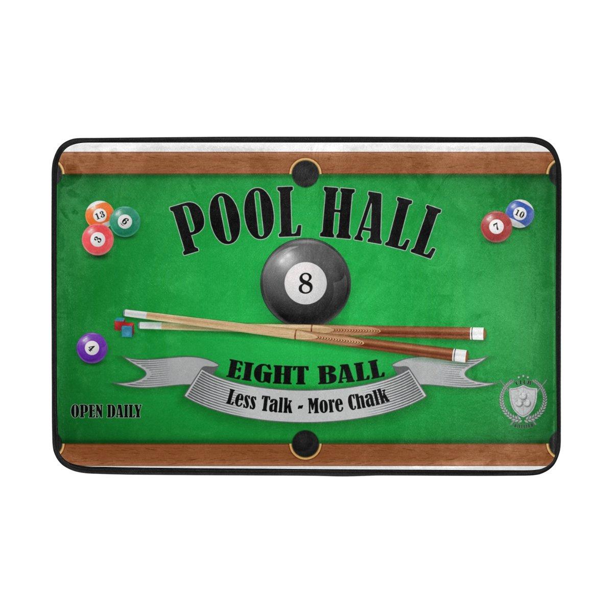 COOSUN Póster de Billar Pool Hall Ocho Bola Felpa, Entrada de ...
