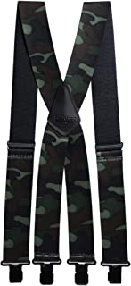 Blue Spitfire Airplane Trouser Braces Novelty Mens Suspenders