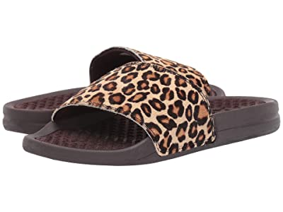 Athletic Propulsion Labs (APL) Iconic Calf Hair Slide (Cheetah) Women