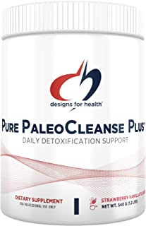 Designs for Health Pure PaleoCleanse Plus - Detox Powder with 18g Bone Broth Protein, Antioxidant Herbs, Vitamins + Minera...