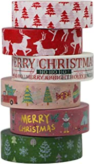 uooom 4/pcs pan Washi cinta adhesiva cinta de papel adhesivo adhesivo para decoraci/ón Scrapbooking DIY Craft regalo