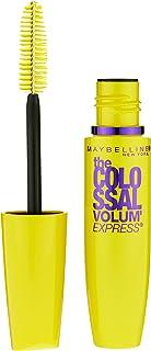 Maybelline Makeup Volum' Express The Colossal Washable Mascara, Glam Black Mascara, 0.31 fl oz