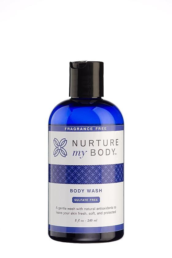 バー努力支店Nurture My Body Fragrance Free Organic Body Wash - SLS Free - For Sensitive Skin - 8 fl oz by Nurture My Body