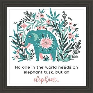 gold elephant wall art