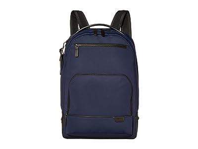 Tumi Harrison Warren Backpack (Navy) Backpack Bags