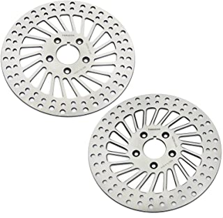 TARAZON 1984-1999 Front Pair Brake Rotors for Harley Davidson Electra Glide Classic Touring Road King DYNA Super Glide Low Rider Sport Glide Sport Glide