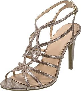 Fioni Women's Lia Strappy Heel