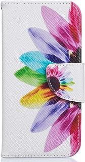 iPhone 8 ケース UNEXTATI Apple iPhone 8 PUレザー 手帳型ケース カバー カード収納 スタンド機能 マグネット開閉式 Apple iPhone8 用 ケース カバー Case (P3 マルチカラー)
