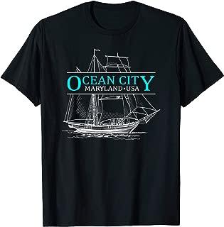 Ocean City Maryland Sailing Capital of The World T-Shirt