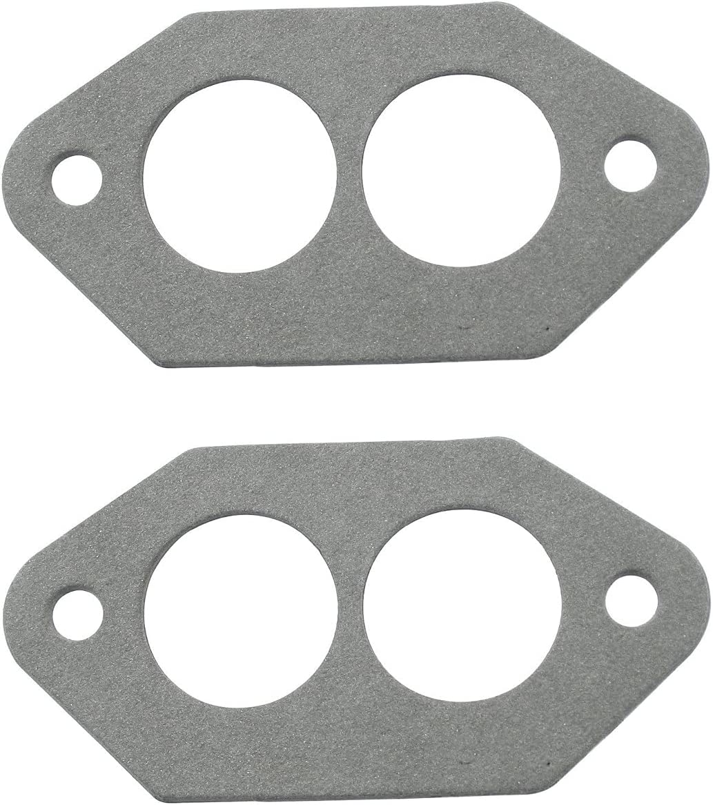 Dual Port Intake Gaskets For Outlet sale feature Pair Aircooled VW Compatible All National products