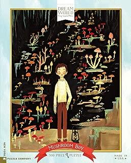 New York Puzzle Company - Dream World Mushroom Boy - 500 Piece Jigsaw Puzzle