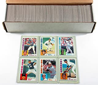 1984 Topps Baseball Complete Set (Don Mattingly Rookie Card)