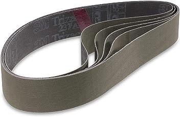 760 x 40 mm, gros grain abrasif, 5 pi/èces MSW Bandes abrasives Nylon MSW-NYBELT476-COAR