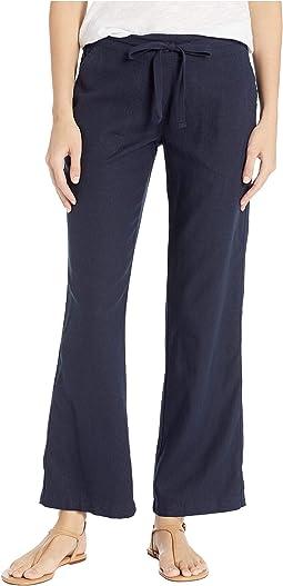 "31"" Linen Drawsting Pants"