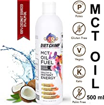 Shadow Securitronics Chimp Naturals MCT Oil From Coconut Unsweetened Keto Diet Sports Supplement (500 ml)