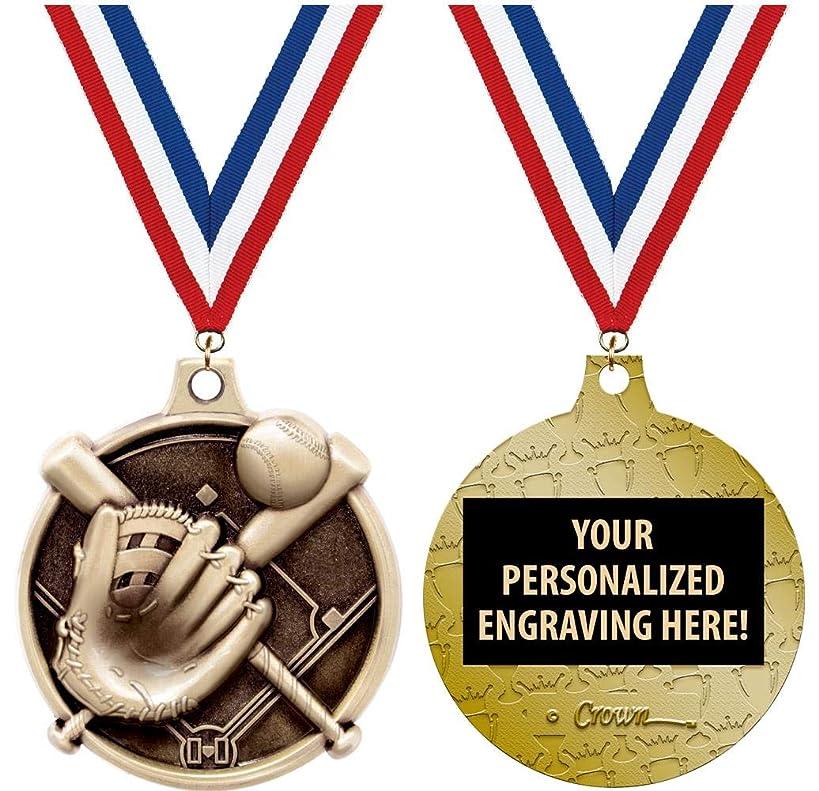 Baseball Medals - 1 1/2